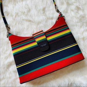 Kate Spade Vintage Stripe Handbag Pocketbook